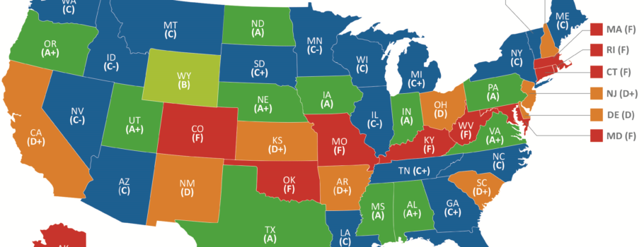 Free Speech Index – Grading the 50 States on Political Giving Freedom