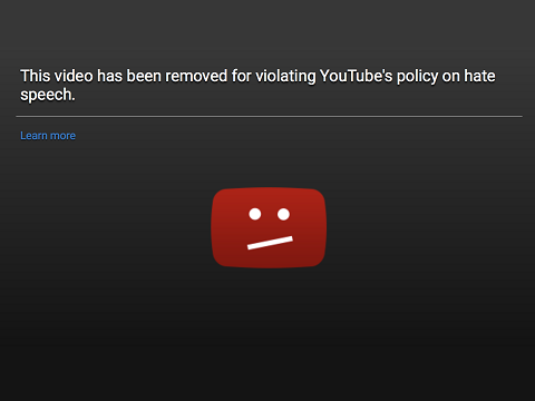 YouTube Hate Speech Policy Rollout Backfires Predictably